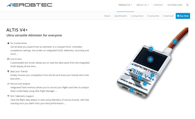 AerobTec Product Page Example