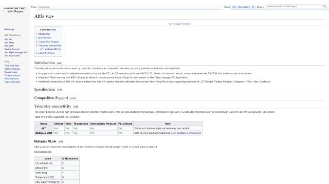 AerobTec Wiki Page Example